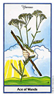 herbal - Ace of Wands