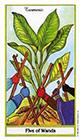 herbal - Five of Wands
