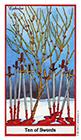 herbal - Ten of Swords