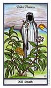 Death Tarot card in Herbal Tarot deck