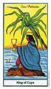 King of Cups Tarot card in Herbal Tarot deck