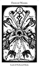 hermetic - Four of Wands