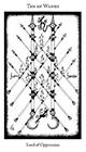 hermetic - Ten of Wands
