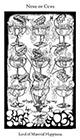 hermetic - Nine of Cups