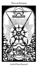 hermetic - Two of Swords