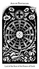 hermetic - Ace of Pentacles