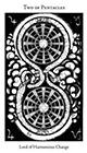 hermetic - Two of Pentacles