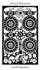 hermetic - Four of Pentacles