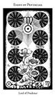 hermetic - Eight of Pentacles