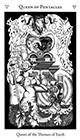 hermetic - Queen of Pentacles