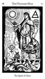 The Foolish Man Tarot Card - Hermetic Tarot Deck