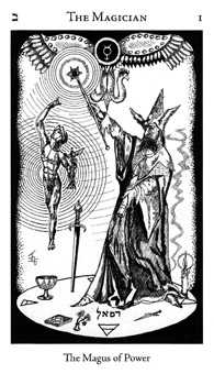 The Magus Tarot Card - Hermetic Tarot Deck