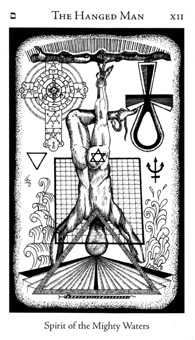 The Hanged Man Tarot Card - Hermetic Tarot Deck