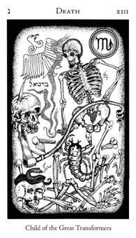 Death Tarot Card - Hermetic Tarot Deck