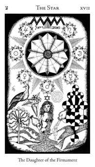 The Star Tarot Card - Hermetic Tarot Deck