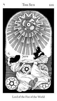The Sun Tarot Card - Hermetic Tarot Deck