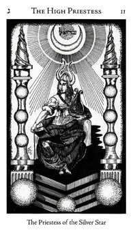 The High Priestess Tarot Card - Hermetic Tarot Deck
