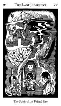 The Judgment Tarot Card - Hermetic Tarot Deck