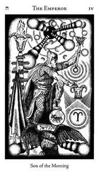 The Emperor Tarot Card - Hermetic Tarot Deck