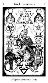 The Pope Tarot Card - Hermetic Tarot Deck