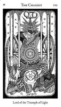 The Chariot Tarot Card - Hermetic Tarot Deck