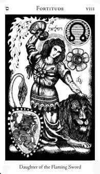 Strength Tarot Card - Hermetic Tarot Deck