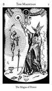 The Magician Tarot card in Hermetic Tarot deck