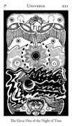 Universe Tarot card in Hermetic Tarot deck