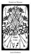 Eight of Wands Tarot card in Hermetic Tarot deck