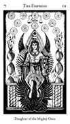 The Empress Tarot card in Hermetic deck