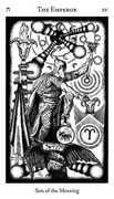 The Emperor Tarot card in Hermetic Tarot deck