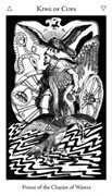 King of Cups Tarot card in Hermetic Tarot deck
