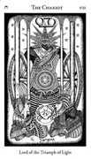 The Chariot Tarot card in Hermetic Tarot deck