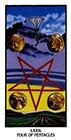 ibis - Four of Pentacles