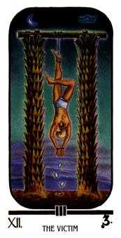 The Hanged Man Tarot Card - Ibis Tarot Deck