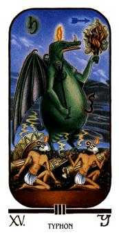 The Devil Tarot Card - Ibis Tarot Deck