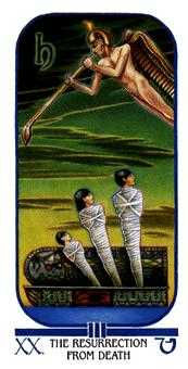 Judgement Tarot Card - Ibis Tarot Deck