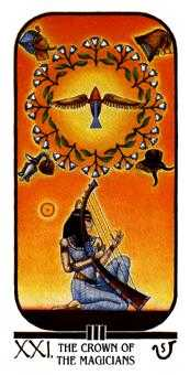 The World Tarot Card - Ibis Tarot Deck