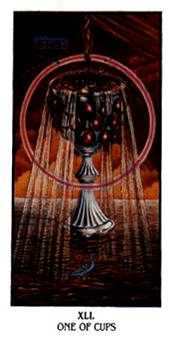 Ace of Cups Tarot Card - Ibis Tarot Deck