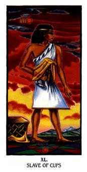 Slave of Cups Tarot Card - Ibis Tarot Deck