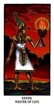 Shaman of Cups Tarot Card - Ibis Tarot Deck