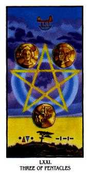 Three of Pentacles