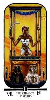 The Chariot Tarot Card - Ibis Tarot Deck