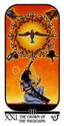 The World Tarot card in Ibis Tarot deck
