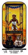 The Chariot Tarot card in Ibis Tarot deck