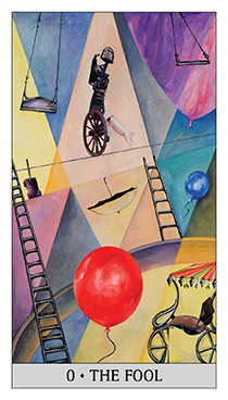The Foolish Man Tarot Card - Japaridze Tarot Deck