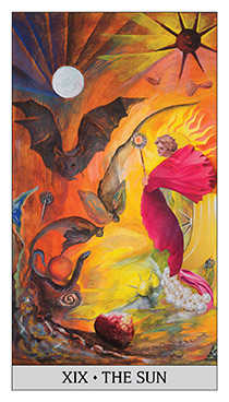 The Sun Tarot Card - Japaridze Tarot Deck