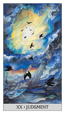 Judgment Tarot Card - Japaridze Tarot Deck