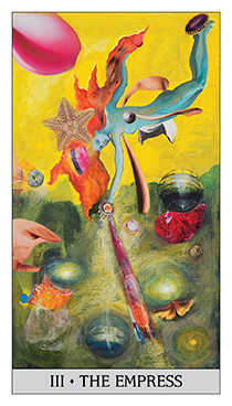 The Empress Tarot Card - Japaridze Tarot Deck