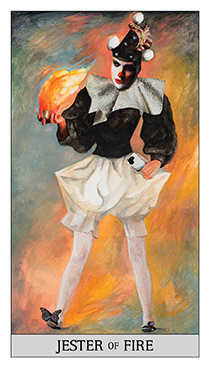 Sister of Fire Tarot Card - Japaridze Tarot Deck